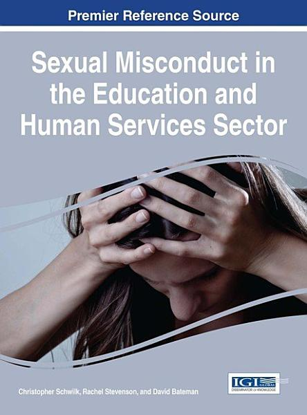 Download Sexual Misconduct in the Education and Human Services Sector Book