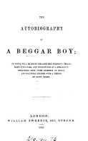 the autobiography of a beggar boy PDF