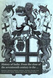 History of India: Volume 6; Volume 8