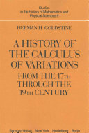 A History of the Calculus of Variations from the 17th through the 19th Century PDF