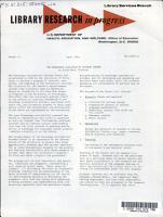 Library Research in Progress PDF