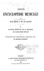 Petite encyclopédie musicale: Volume2