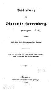Beschreibung des Oberamts Herrenberg