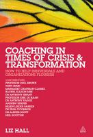 Coaching in Times of Crisis and Transformation PDF