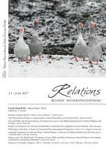 Relations  Beyond Anthropocentrism  Vol  5  No  1  2017   Food  shared life  Part I PDF