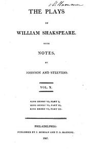 The Plays of William Shakespeare ...
