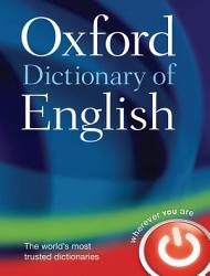 Oxford Dictionary Of English Book PDF