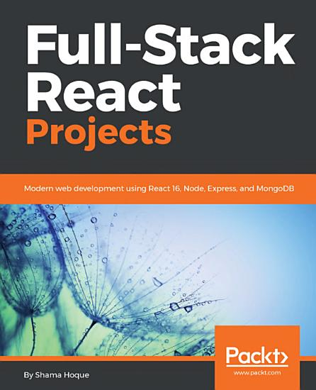 Full Stack React Projects PDF