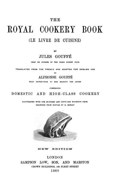 Download The Royal Cookery Book Book