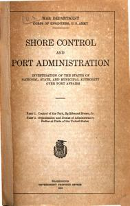 Shore Control and Port Administration PDF