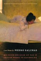 Love Poems by Pedro Salinas PDF
