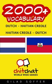 2000+ Dutch - Haitian_Creole Haitian_Creole - Dutch Vocabulary