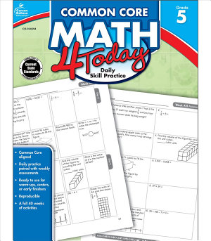 Common Core Math 4 Today  Grade 5 PDF