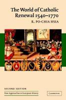 The World of Catholic Renewal  1540 1770 PDF