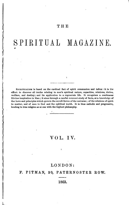 Spiritual Magazine