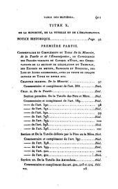 La législation civile, commerciale et criminelle de la France, ou Commentaire et complément des Codes Français ...: Volume7