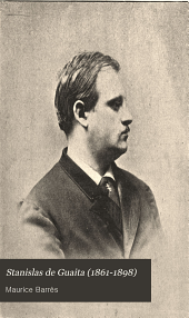 Stanislas de Guaita (1861-1898): un renovateur de l'occultisme : souvenirs
