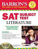 Barron s SAT Subject Test in Literature