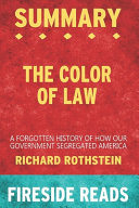 Summary of The Color of Law Book