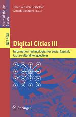 Digital Cities III. Information Technologies for Social Capital: Cross-cultural Perspectives