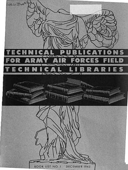 Technical Publications for Army Air Forces Field Technical Libraries PDF