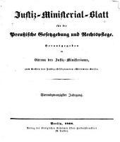 Deutsche justiz: rechtspflege und rechtspolitik ... Amtliches blatt der deutschen rechtspflege, Band 24
