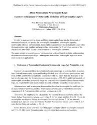 About Nonstandard Neutrosophic Logic PDF