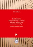 Earthquake Research and Analysis PDF