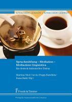 Sprachmittlung     Mediation     Mediazione linguistica PDF