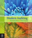 Modern Auditing and Assurance Services, Google eBook