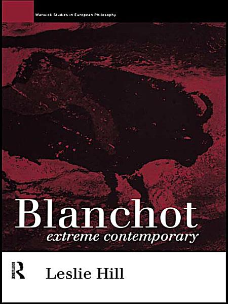 Download Blanchot Book