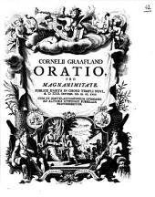 Oratio pro magnanimitate: Volume 1