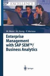 Enterprise Management with SAP SEMTM / Business Analytics