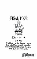 Final Four Records 1939 1993 Book PDF