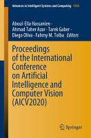 Proceedings of the International Conference on Artificial Intelligence and Computer Vision  AICV2020  PDF