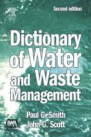 Dictionary of Water and Waste Management PDF