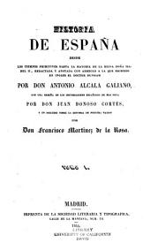 Historia de España desde los tiempos primitivos hasta la mayoría de la reina doña Isabel II: redactada y anotada con arreglo a la que escribió en inglés el doctor Dunham, Volúmenes 1-2