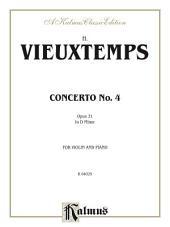 Violin Concerto No. 4, Op. 31: String - Violin and Piano