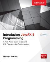 Introducing JavaFX 8 Programming PDF