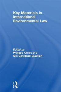 Key Materials in International Environmental Law PDF