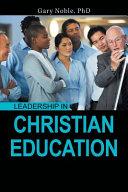 Leadership in Christian Education PDF