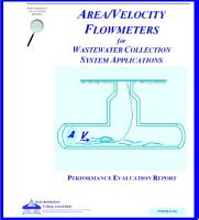 Area velocity Flowmeters for Wastewater Collection System Applications PDF