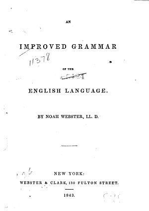 An Improved Grammar of the English Language