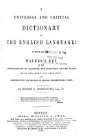 A Universal and Critical Dictionary of the English Language PDF