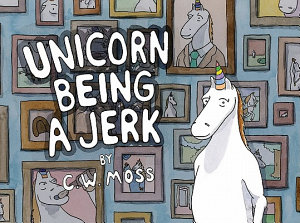 Unicorn Being a Jerk Book