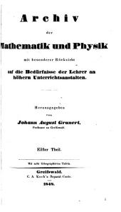 archiv der mathematik and physik