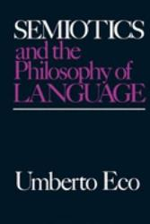 Semiotics and the Philosophy of Language PDF