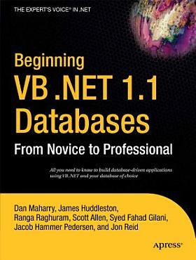 Beginning VB  NET 1 1 Databases PDF