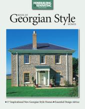 Book of Georgian Style Homes