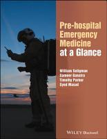 Pre hospital Emergency Medicine at a Glance PDF